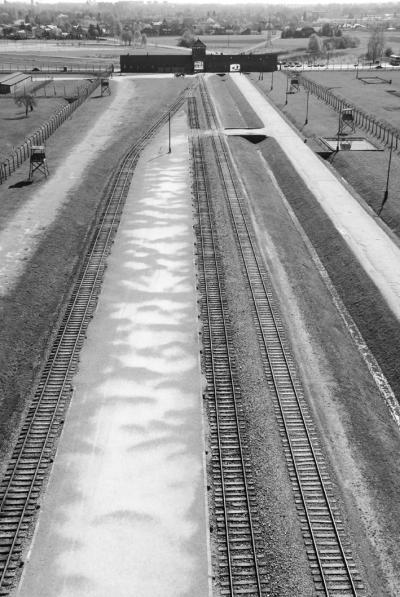 Estación de tren de Auschwitz