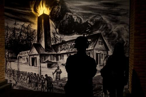 Exposición de Auschwitz en Madrid