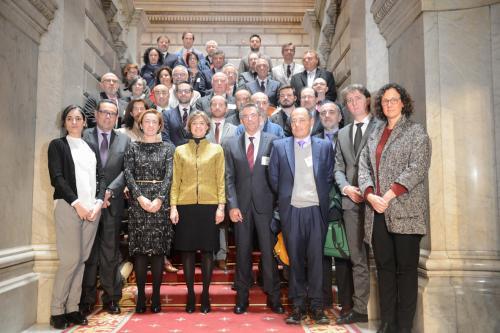 García Tejerina con representantes de las iniciativas seleccionados en los Proyectos Clima.