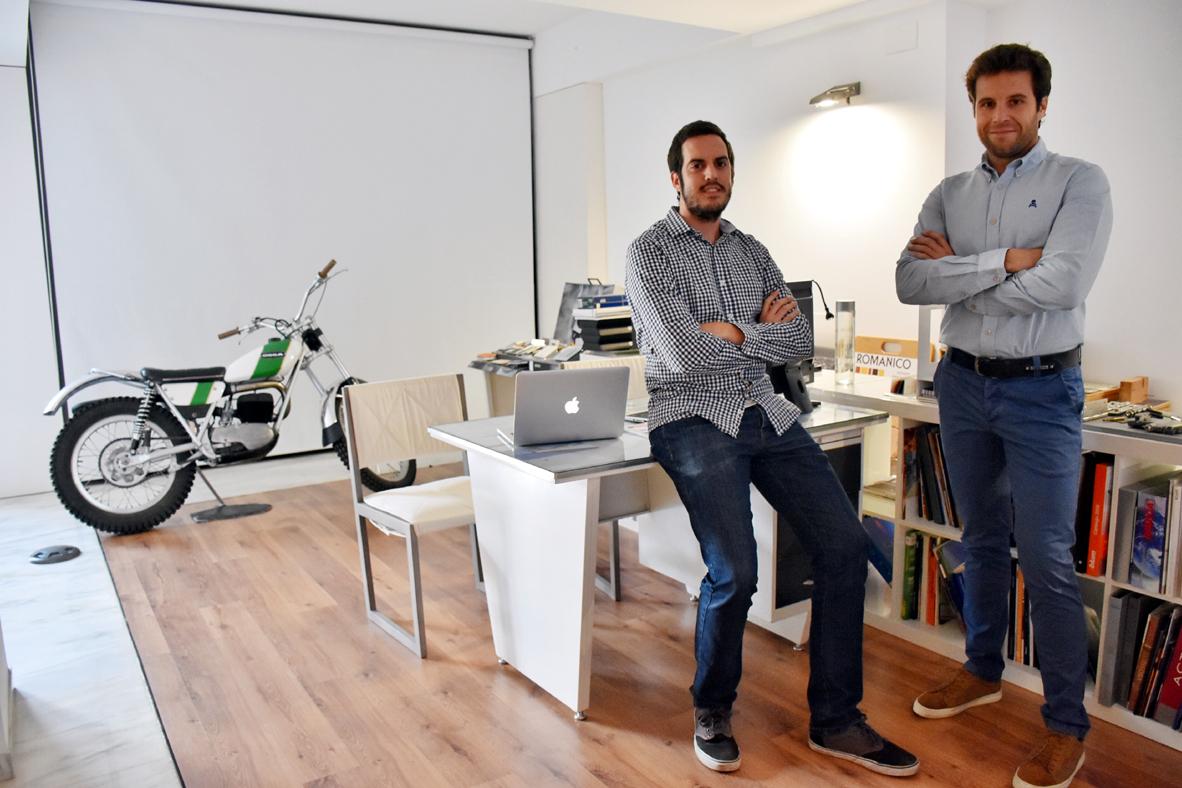 Quim Sánchez y José María Falcón, desarrolladores de Allergeneat.