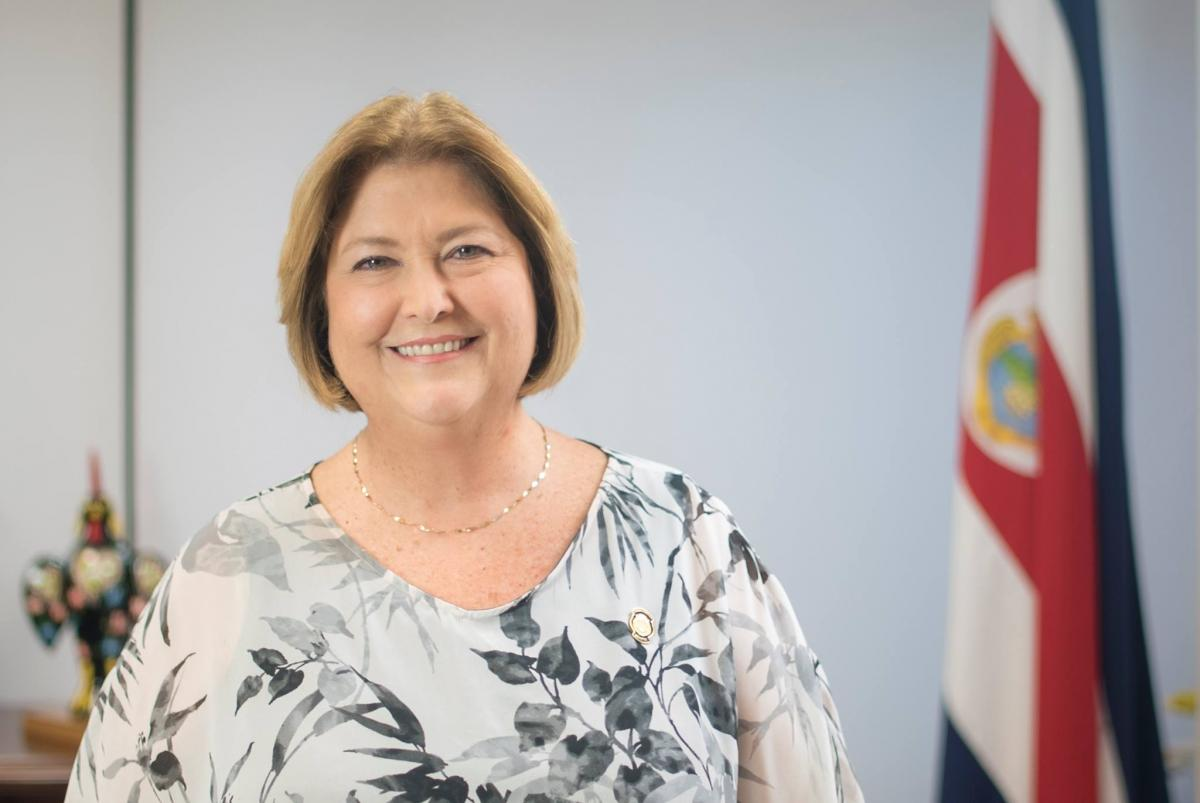 María Amalia Revelo, ministra de Turismo de Costa Rica.