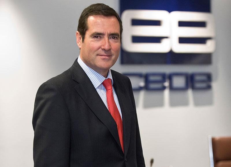 Antonio Garamendi, presidente de la CEOE.