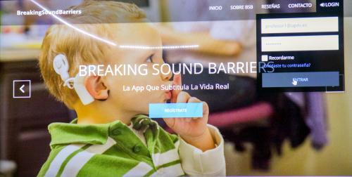 App de Breaking Sound Barriers.
