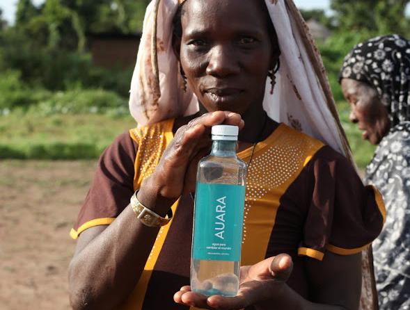 Mujer habitante de Sansí Gandó (Benín, África) donde Auara desarrolla un proyecto.