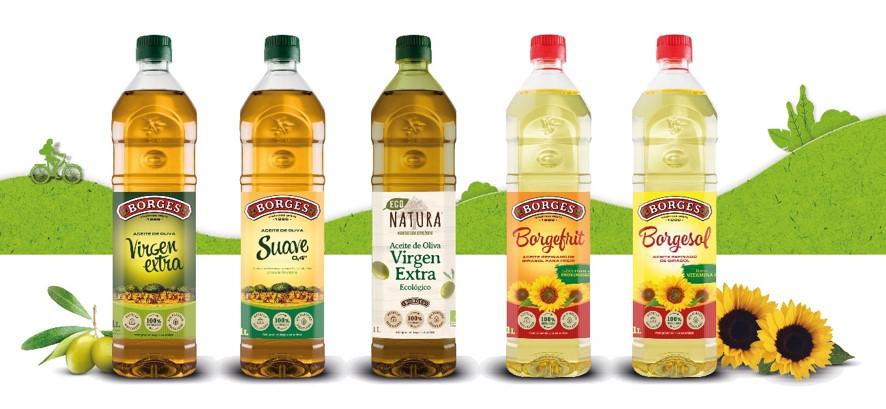 Borges lanza su primera botella de 1L fabricada con un 25% de plástico reciclado.