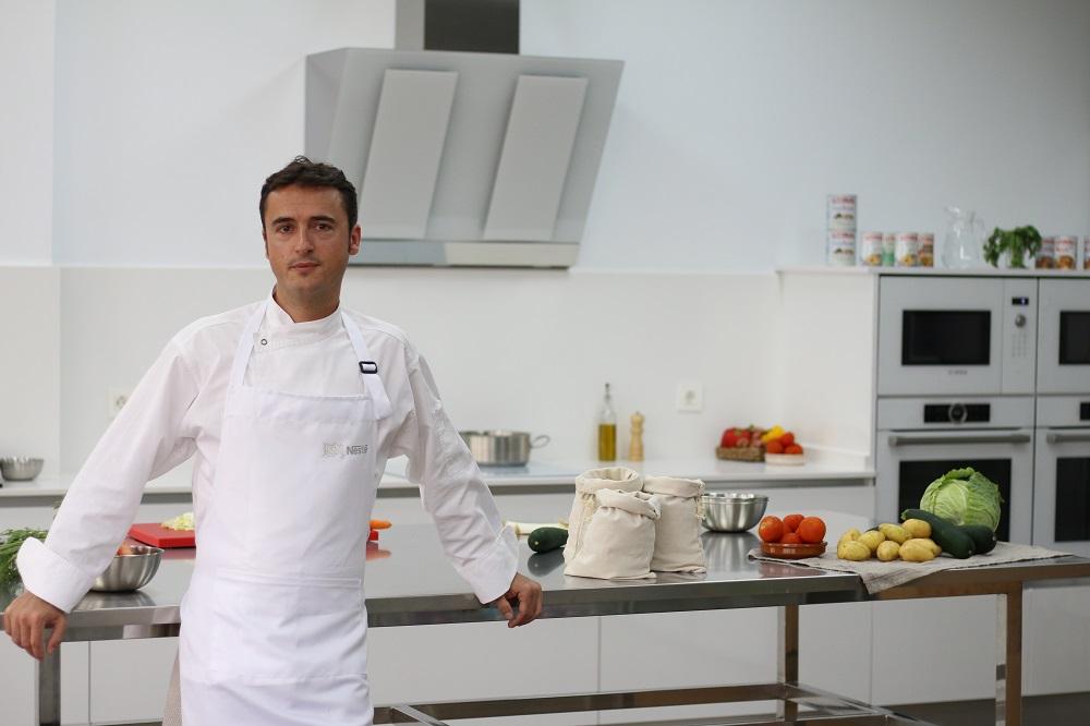 Armando González, chef de la Cocina Experimental de Nestlé.