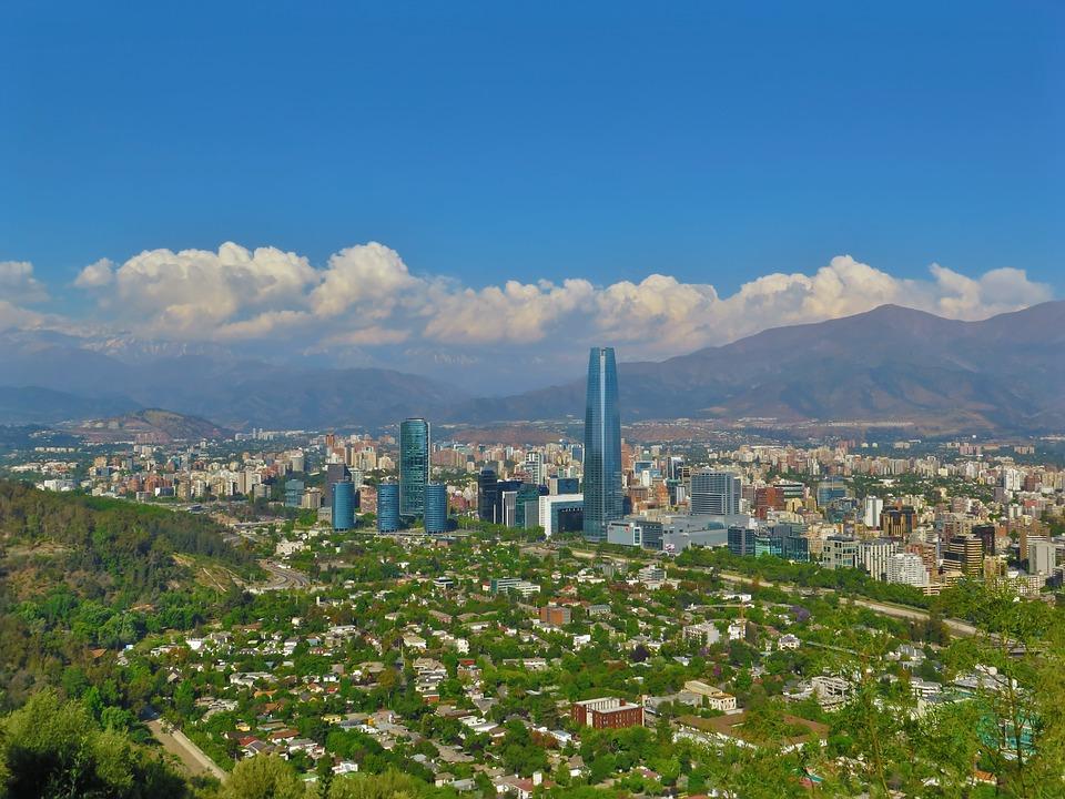 Vista de Santiago de Chile, donde se iba a celebrar la COP25.