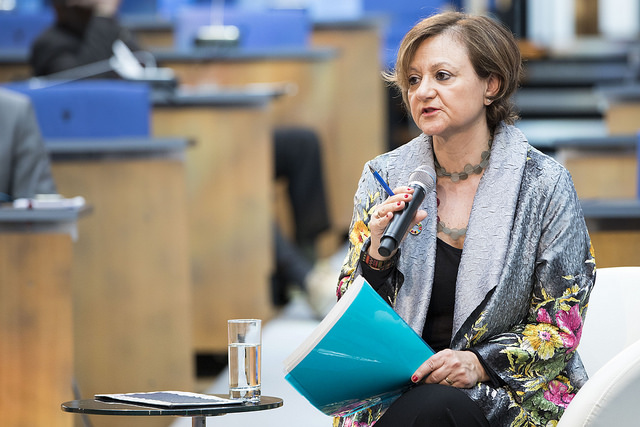Cristina Gallach. Photothek/Inga Kjer
