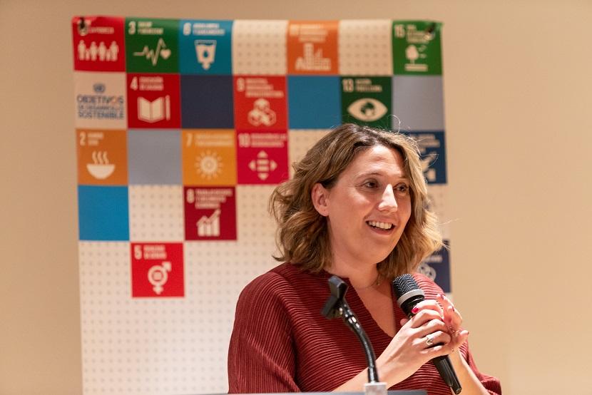La directora ejecutiva de la Red Española del Pacto Mundial, Cristina Sánchez.