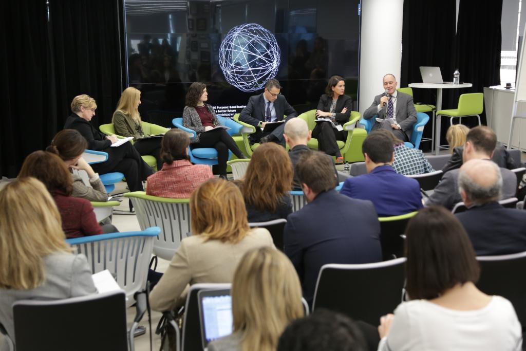 Presentación en Madrid del Informe '2030 Purpose: Good business and a better future'.