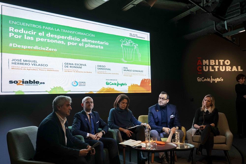 Encuentro 'Reducir el desperdicio alimentario. Por las personas, por el planeta'.