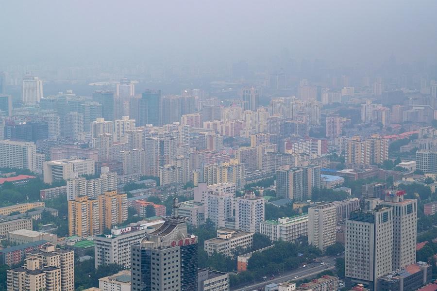 Contaminación en una ciudad china.