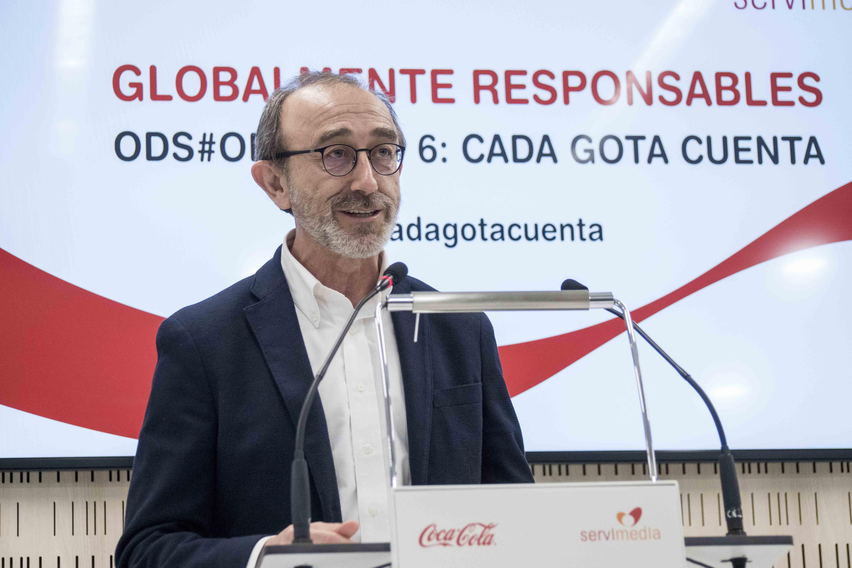 Juan José Litrán, director de Relaciones Corporativas de Coca-Cola Iberia.
