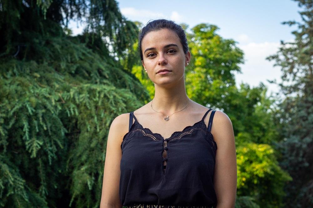 Patricia Ramos, joven embajadora de Plan International participante en la Cumbre sobre Acción Climática de la ONU.