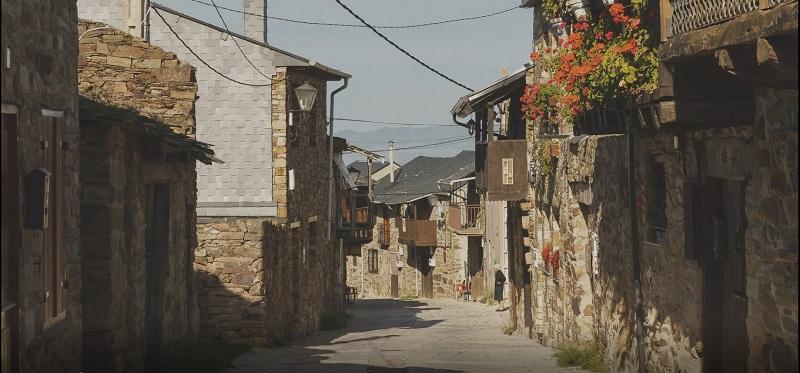 Calles desiertas antes del confinamiento.