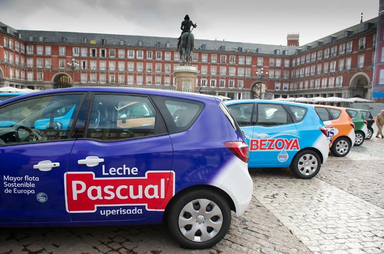 Calidad Pascual asegura contar con la mayor flota de vehículos sostenibles de Europa.