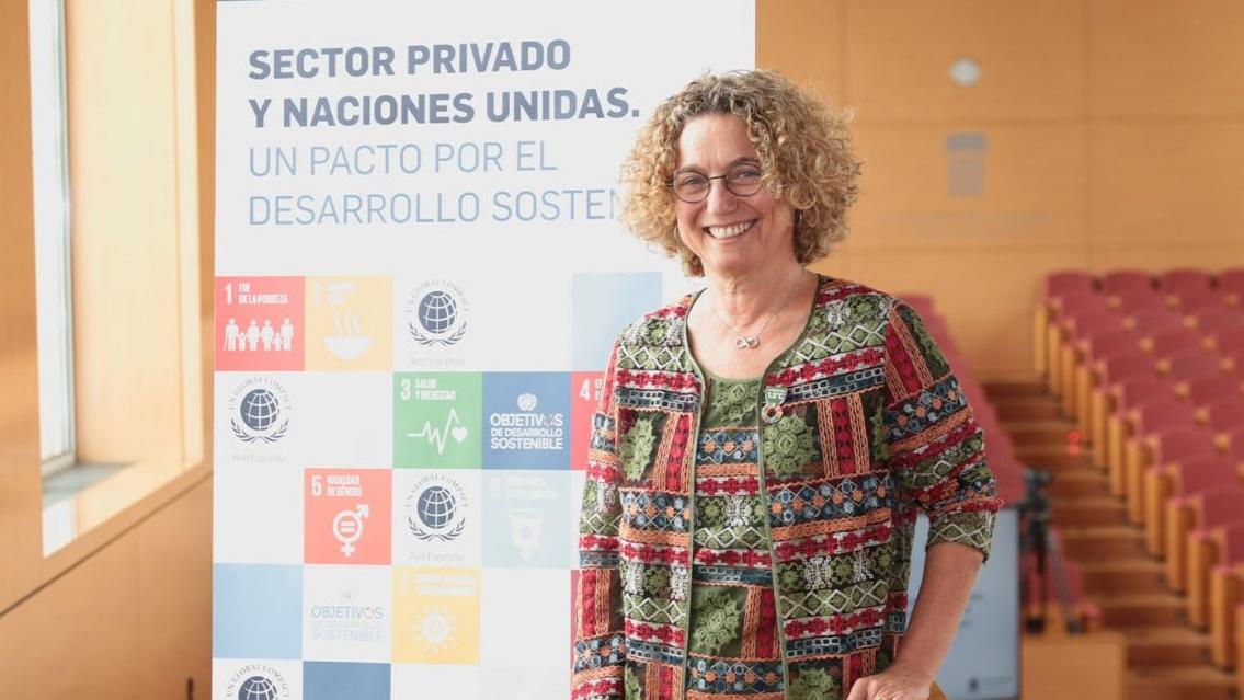 Clara Arpa, presidenta de la Red Española del Pacto Mundial
