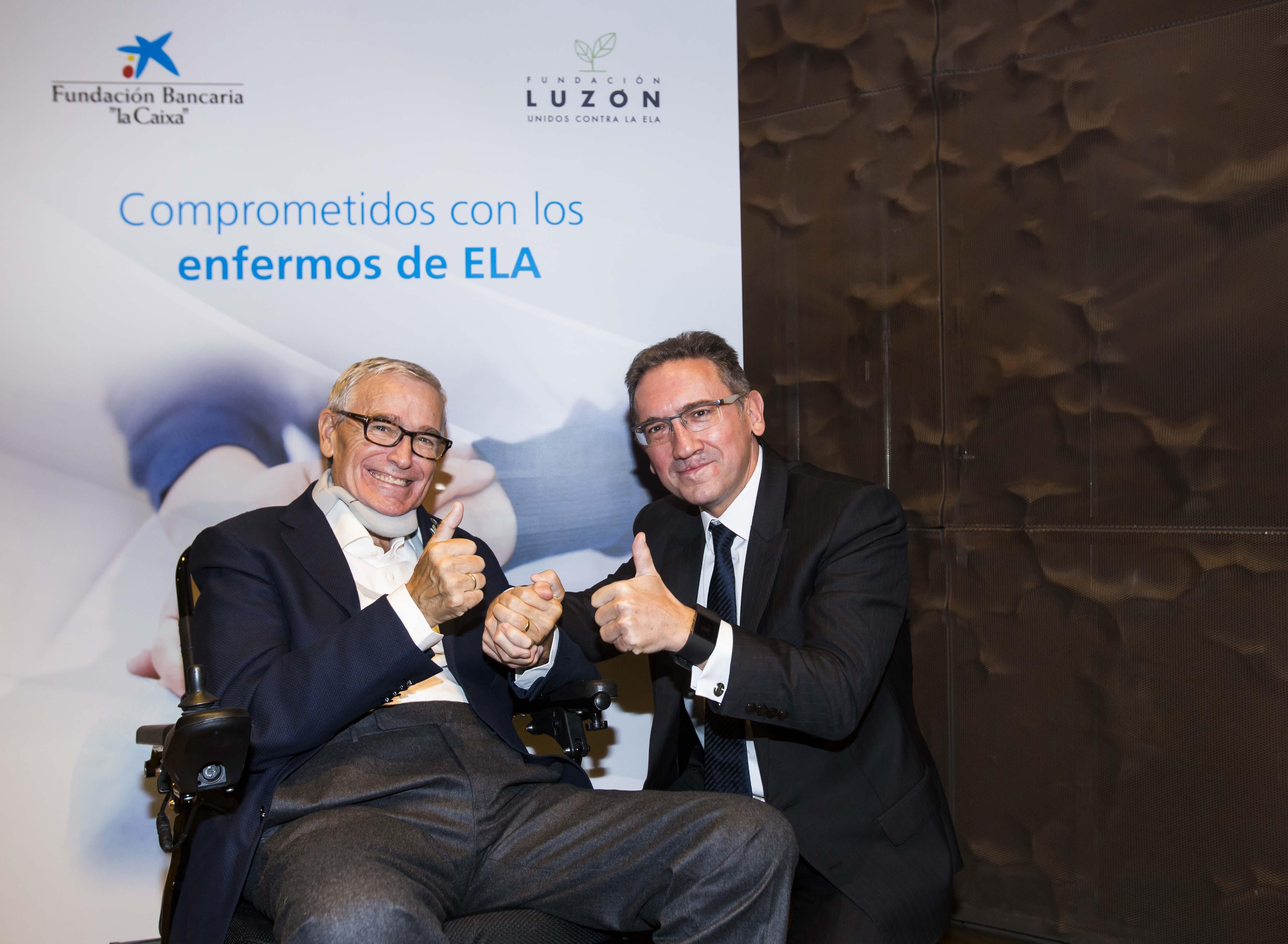 Francisco Luzón (a la izquierda) y Jaume Giró.