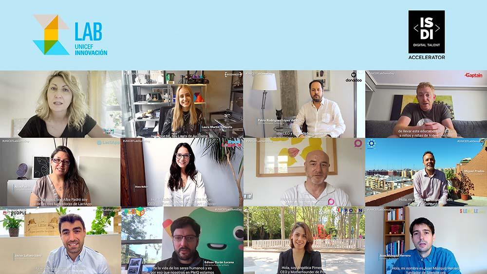 Los finalistas de esta edición de los premios Unicef lab