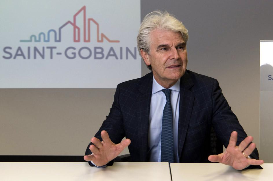 Gianni Scotti, en la sede de Saint-Gobain.