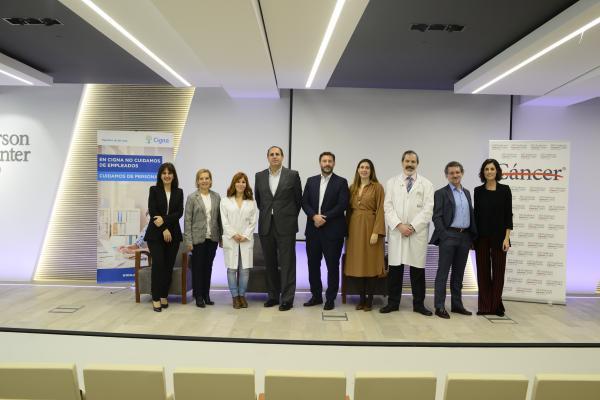 Presentación de la guía de Cigna España y MD Anderson Cancer Center Madrid.