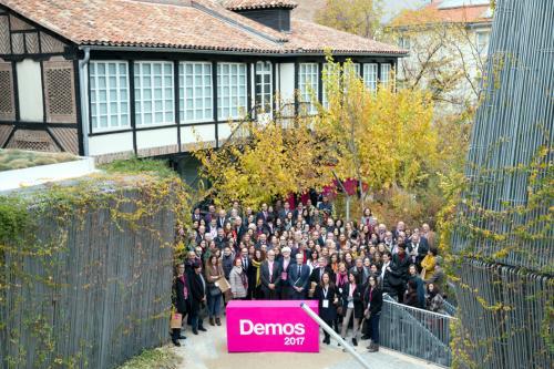Participantes en Demos 2017.