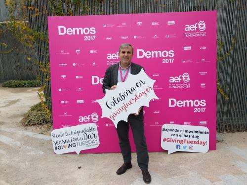 Juan Mezo, promotor en España de #GivingTuesday.