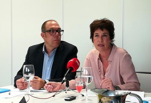 Francesca Friz-Prguda y Juan Carlos Arnáiz.