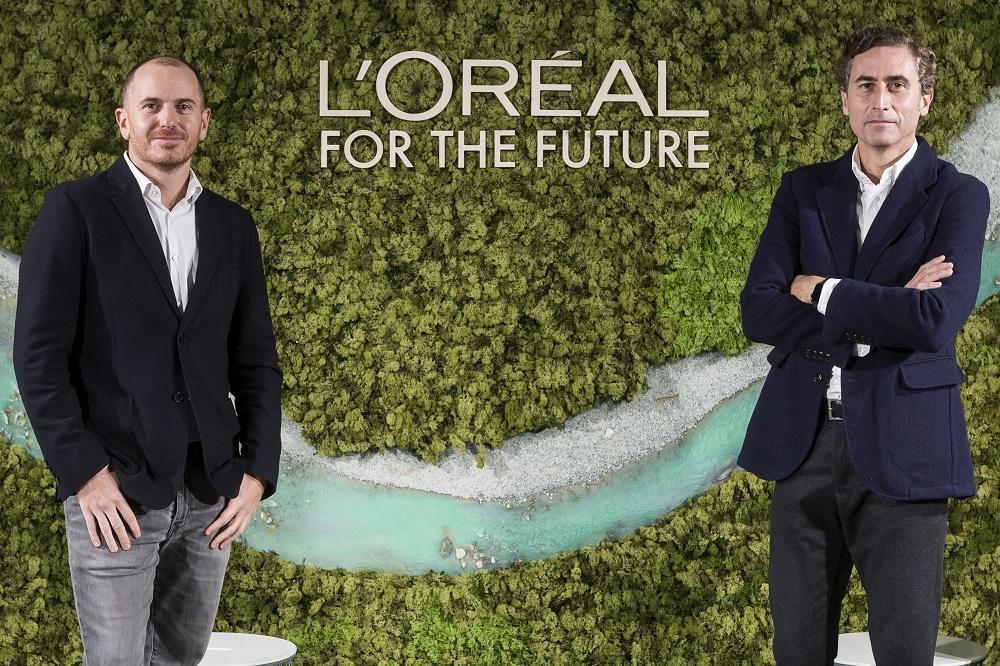 Íñigo Larraya, director de Sostenibilidad y RSC, y Juan Alonso de Lomas, CEO.