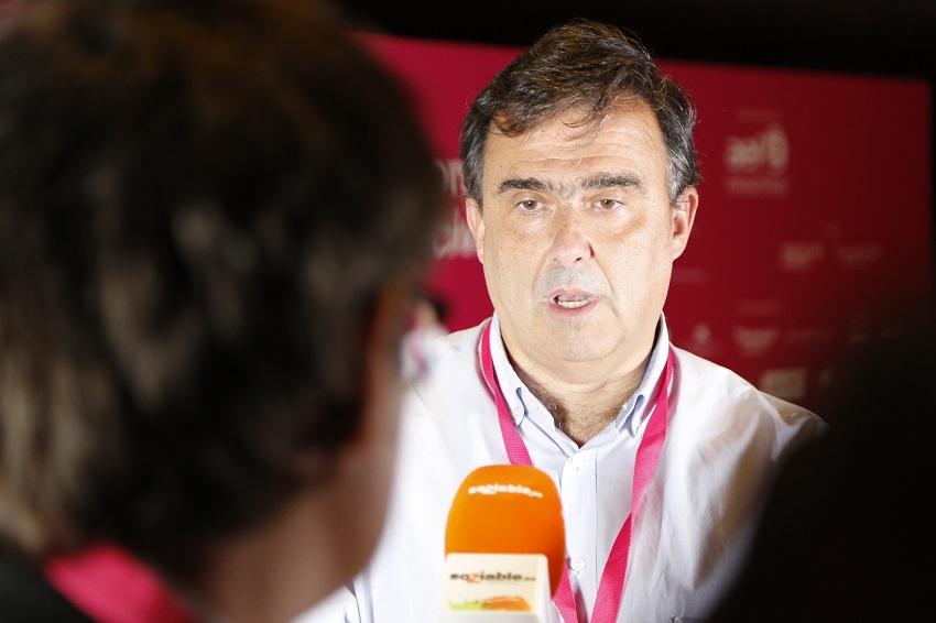 José María Vera, durante la entrevista con Soziable.es