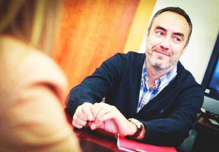 Juan Ángel Poyatos, fundador y director de Voluntare.