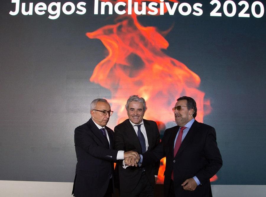 Alejandro Blanco, Iñaki Ereño y Miguel Carballeda.