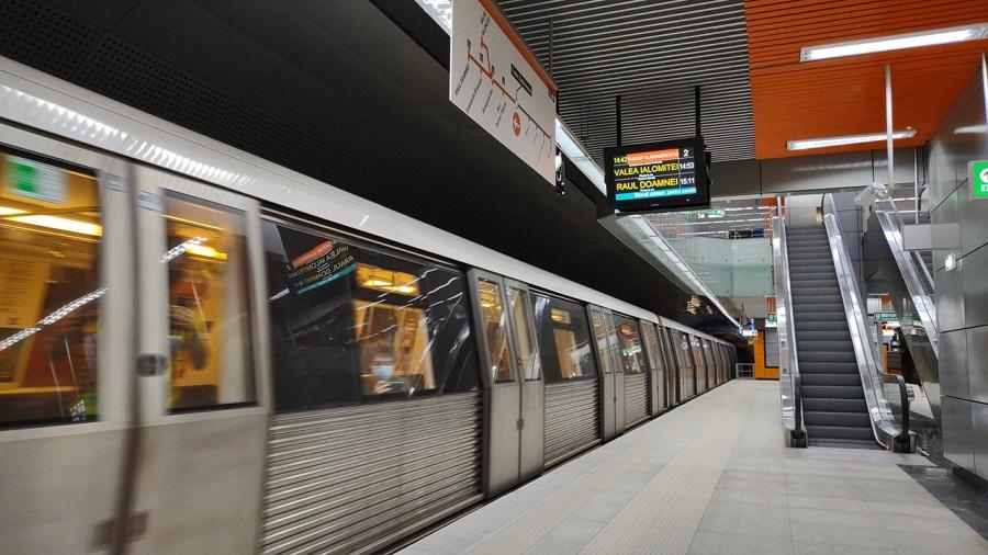 Línea 5 del Metro de Bucarest, en Rumanía.