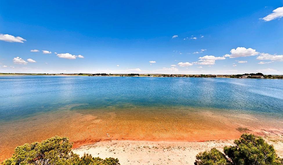 Lagunas de Villafranca de los Caballeros, en Toledo, uno de los entornos mejorados por el programa.