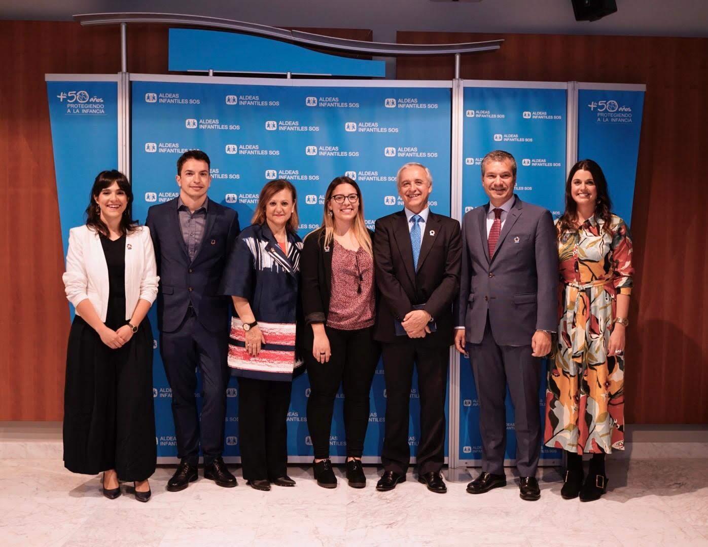 Sofía García, Rubén Carricondo, Cristina Gallach, Ana Hernández, Pedro Puig, Javier Solans y Sol Cardozo.