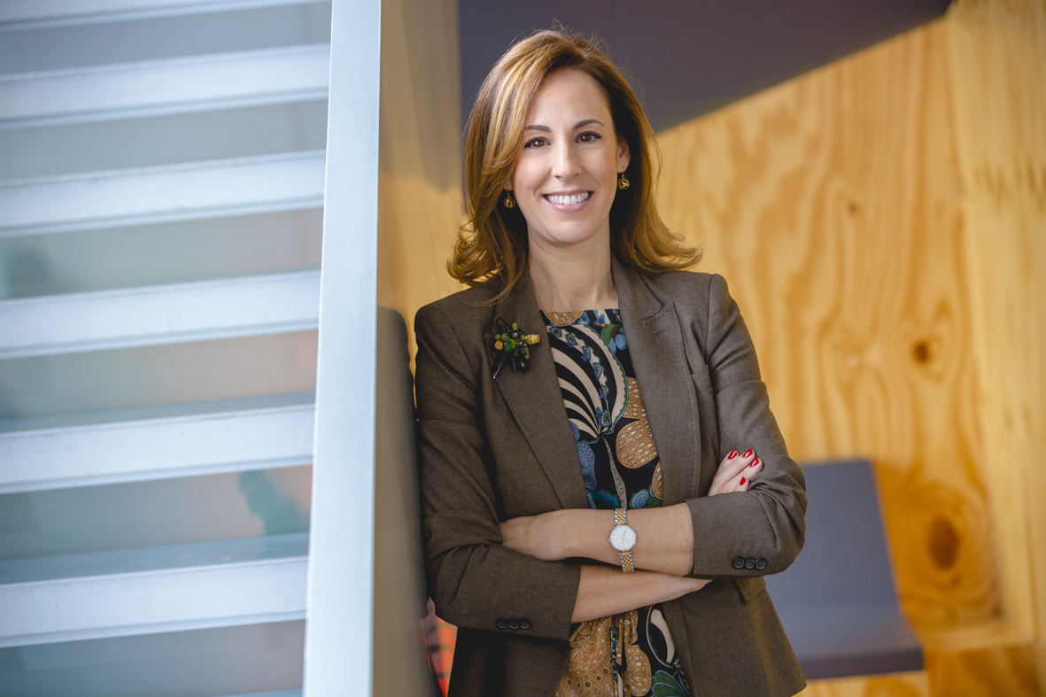 Patricia Leiva, directora de Relaciones Institucionales, Comunicación y Sostenibilidad de Mahou San Miguel.