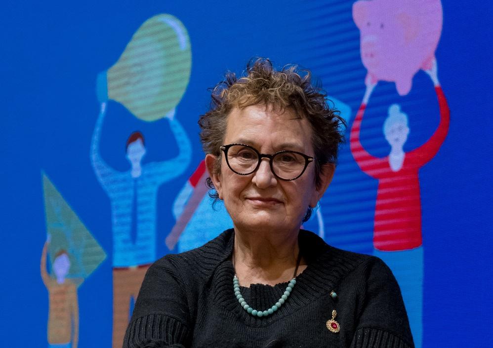 María García Álvarez, presidenta de la Fundación Isadora Duncan.