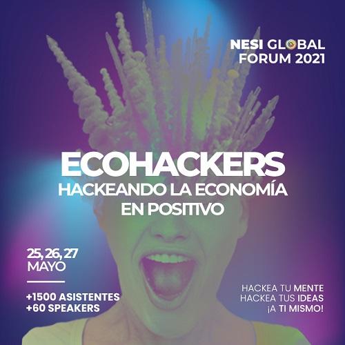 Cartel de NESI Global Forum 2021
