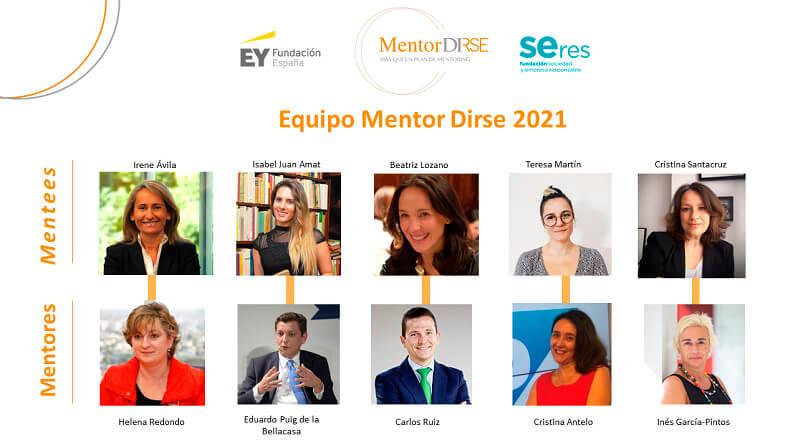 Equipo edición Mentor Dirse 2021