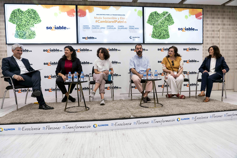 Chema Doménech, Gema Gómez, Carol Blázquez, Miguel Carvajal, Paloma García y Silvia Pérez.