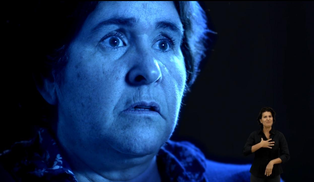 Captura de un fotograma del vídeo 'Diferente'.