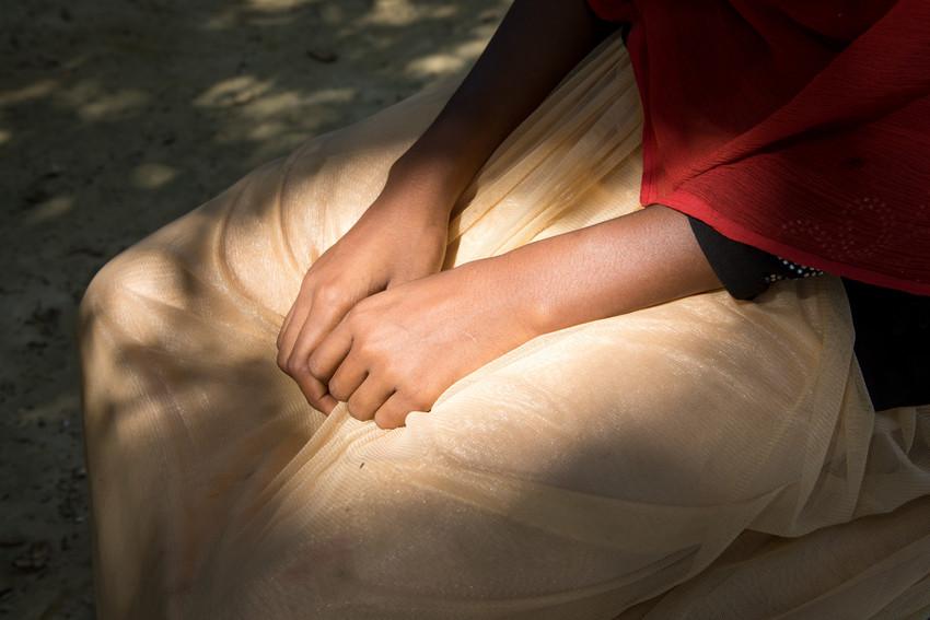 Las niñas rohingya afectadas por la crisis humanitaria han sufrido violaciones.