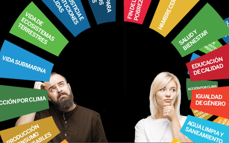 Los Objetivos de Desarrollo Sostenible aún son desconocidos en la sociedad.
