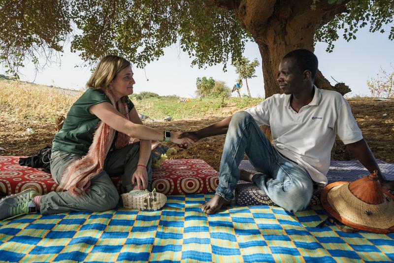 'Héroes de la ayuda' en Mauritania.