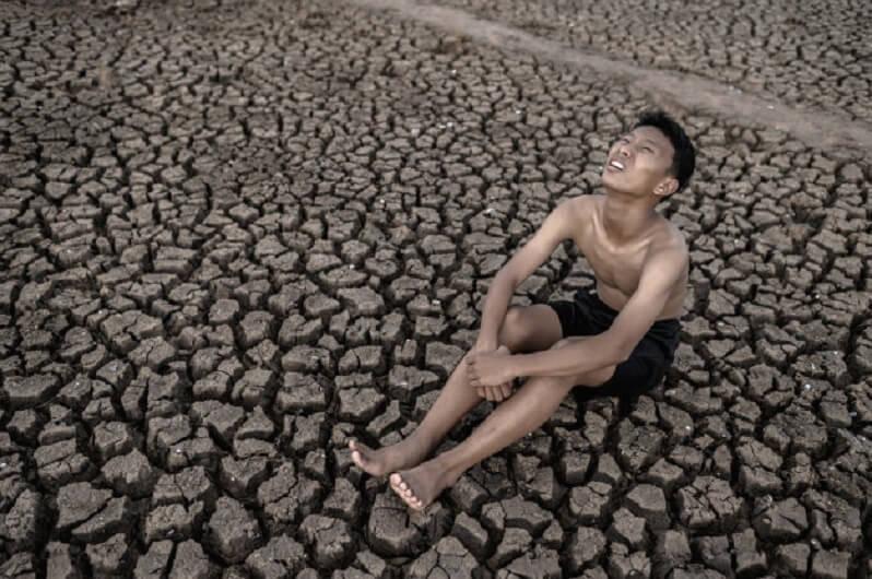 La sequía es una de las grandes catástrofes para amplias zonas del planeta