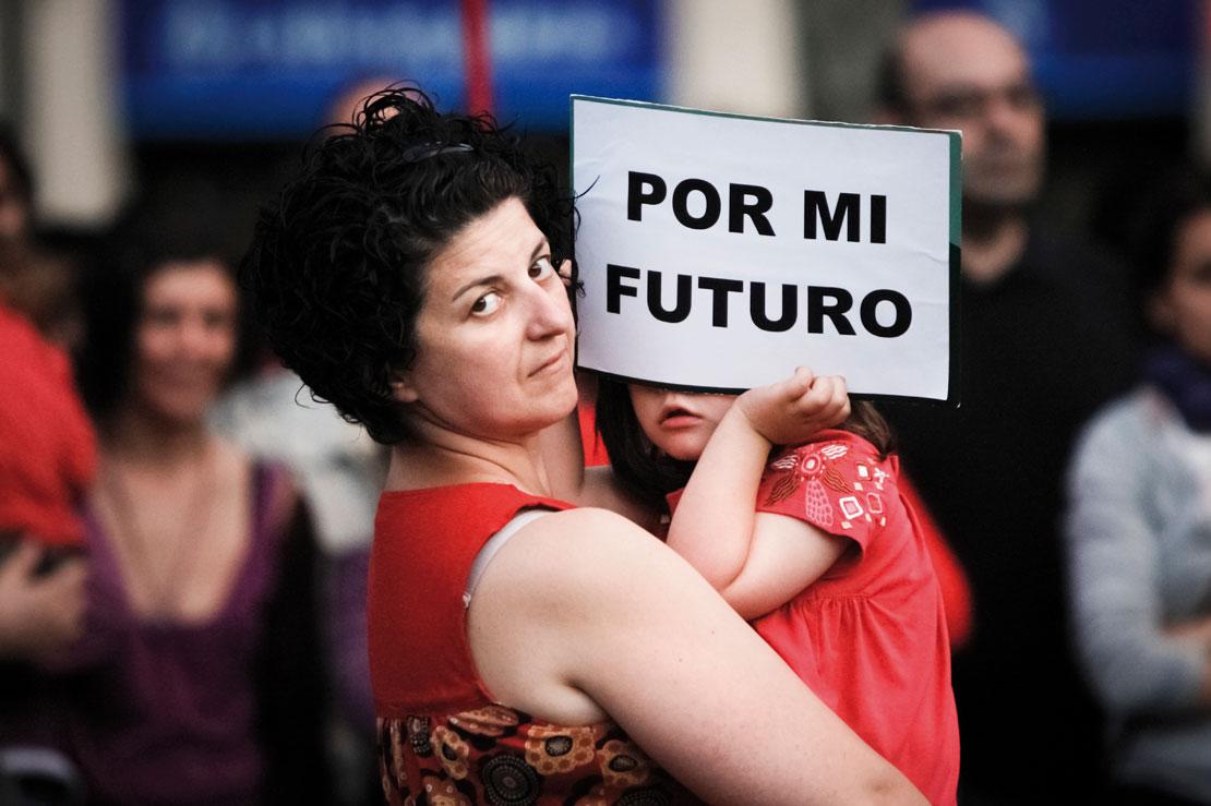 Manifestación por la igualdad de la mujer (Foto: G.Caballero. Banco de Imágenes Sin Derechos, Cruz Roja).