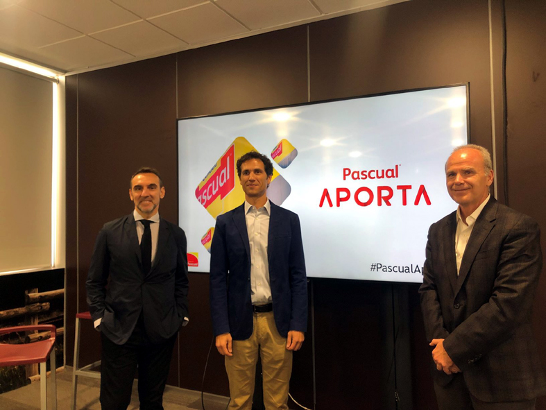 De izquierda a derecha, José Luis Saiz, Borja Pascual y Joseba Arano.