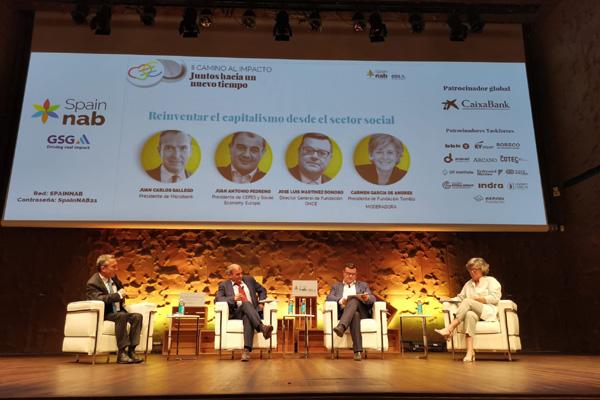 Mesa de debate 'Reinventar el capitalismo desde el sector social'