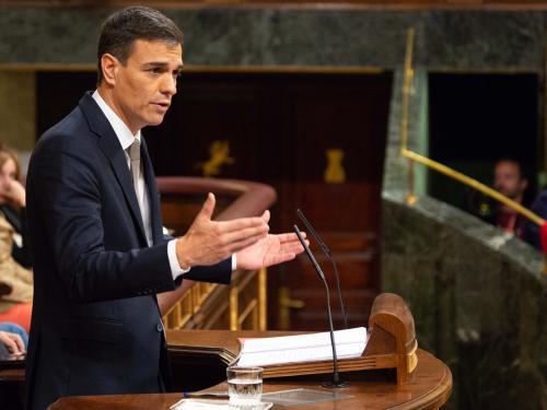 Pedro Sánchez, nuevo presidente del Gobierno.