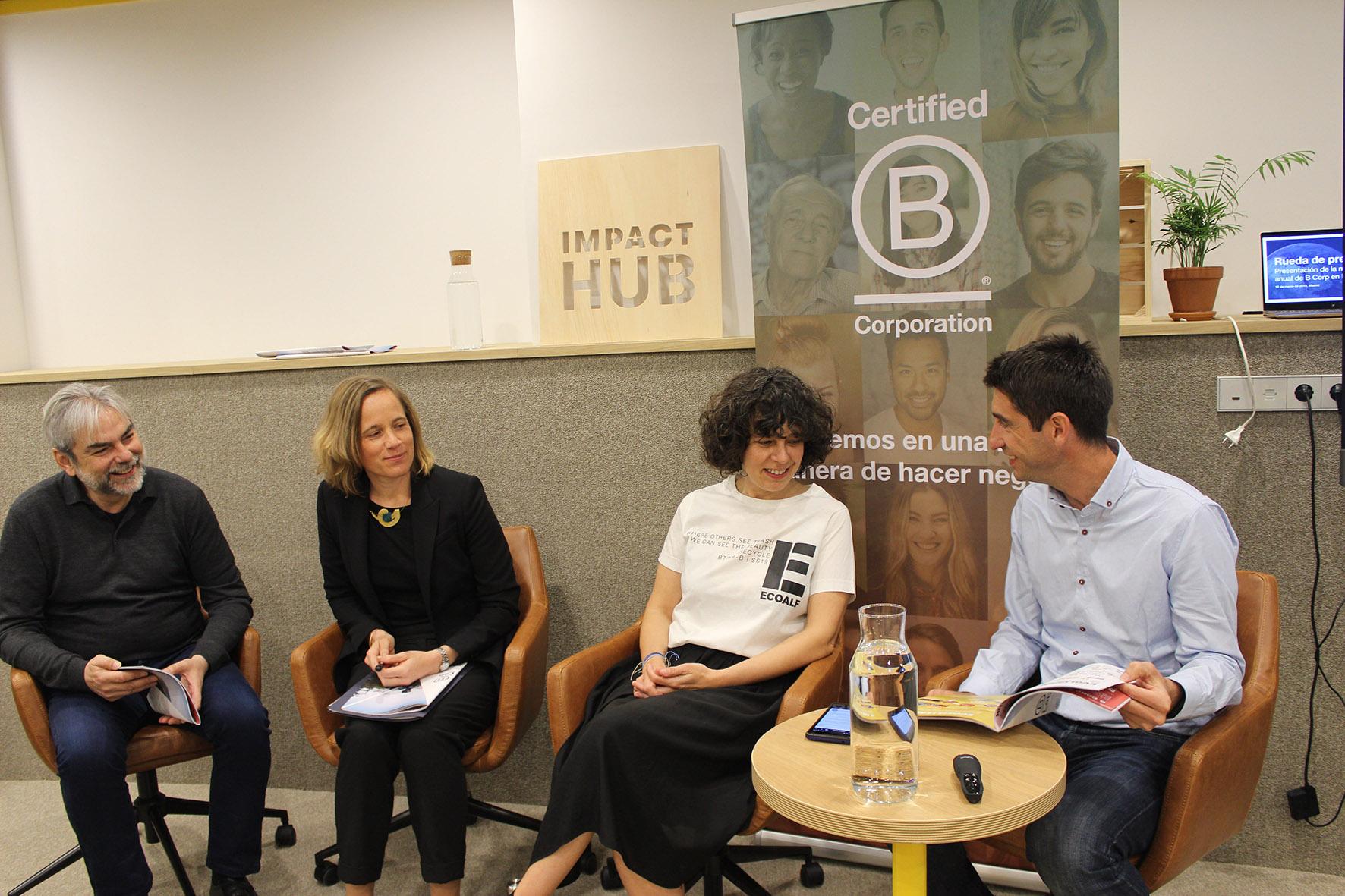 De izquierda a derecha: Antonio González, Sandra Castañeda, Carol Blázquez y Pablo Sánchez.